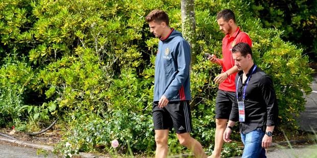 Eden Hazard et les 22 autres Diables à l'entraînement samedi - La DH