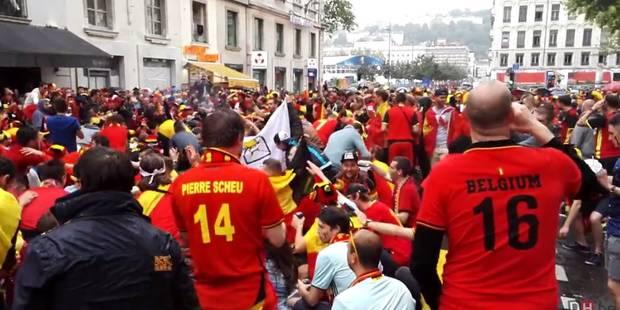 Belgique - Italie: l'ambiance est toujours festive à l'heure de rejoindre le stade ! (VIDÉOS + PHOTOS) - La DH