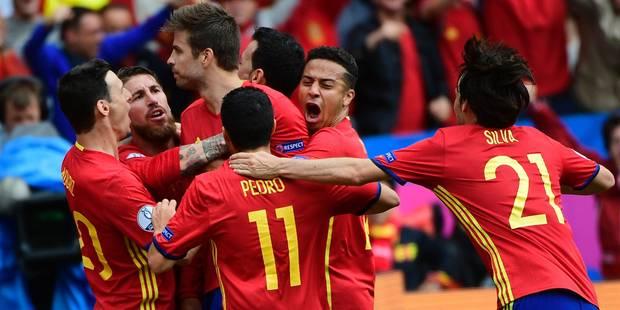 """L'Espagne a """"Piqué"""" la victoire en fin de match (1-0) - La DH"""