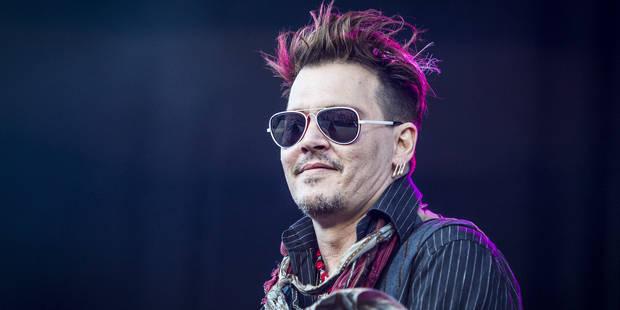 Johnny Depp tente de récupérer ses affaires, Amber est furieuse - La DH
