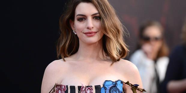 Anne Hathaway, cette maman qui s'engage pour les autres mères qui travaillent - La DH