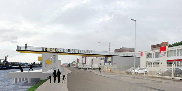 Port de Bruxelles: un terminal pour passagers pour booster le tourisme - La DH