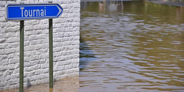 Intempéries : Nouvelles pluies diluviennes dans le Hainaut occidental - La DH