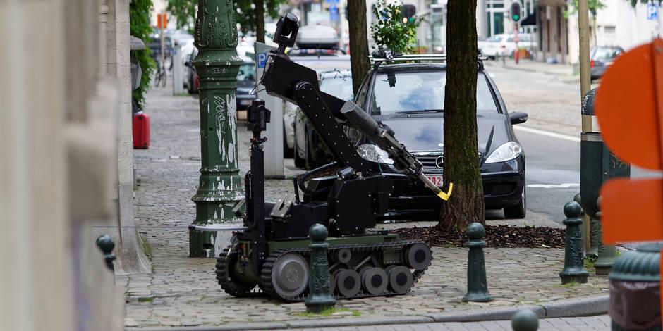 Menace terroriste: le colis suspect près d'une synagogue à Saint-Gilles était inoffensif