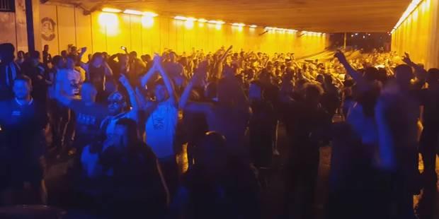 Quand les supporters irlandais font chanter les policiers français (VIDEO) - La DH