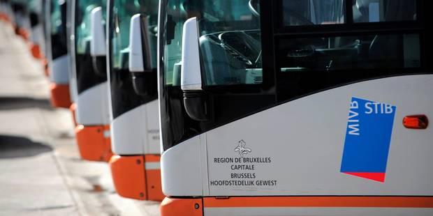 Bruxelles: circulation STIB perturbée suite à un effondrement de voirie - La DH