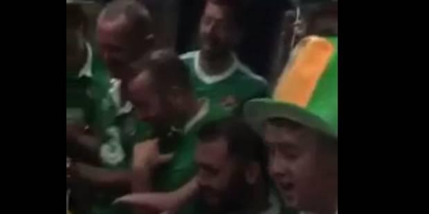 Quand les supporters irlandais chantent une berceuse à un enfant dans le tram (VIDEO) - La DH