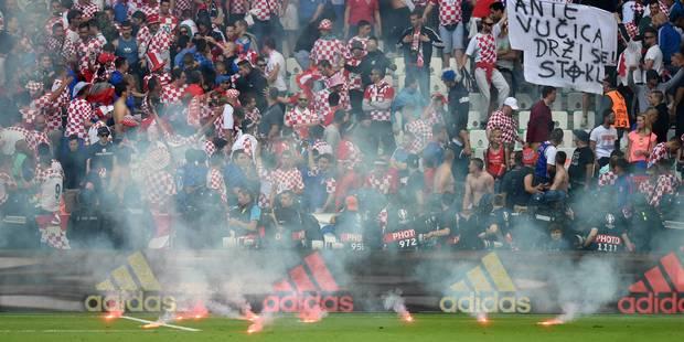 Incidents lors de Tchéquie - Croatie: Amende salée pour la fédération croate - La DH