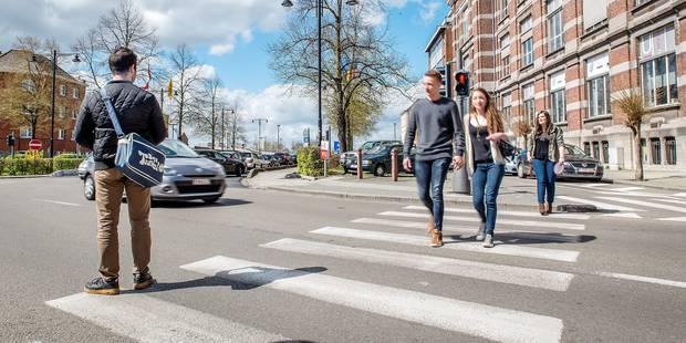 Les piétons belges se sentent le moins en sécurité - La DH