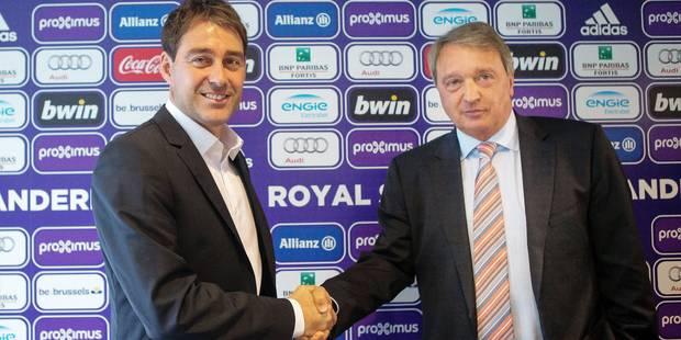 "Van Holsbeeck: ""Weiler va rendre son identité à Anderlecht"" - La DH"