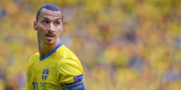 """Zlatan Ibrahimovic confirme: """"Après l'Euro, j'arrête avec la Suède !"""" - La DH"""