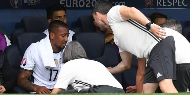 L'Allemand Jerome Boateng touché au mollet - La DH