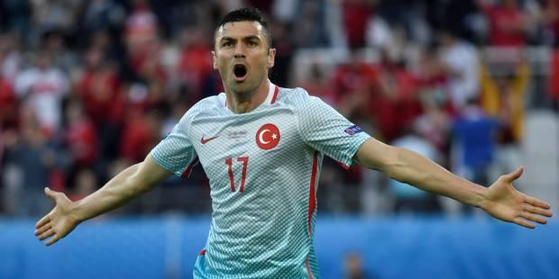 "Burak Yilmaz: ""Une belle soir�e pour la Turquie"""