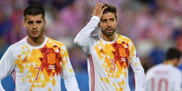 Après le bras d'honneur de Pogba, le doigt d'honneur de Piqué ? (PHOTOS & VIDEO) - La DH