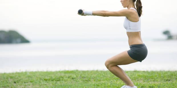 Les gestes formes : les squats pour travailler jambes, cuisses et fessiers - La DH