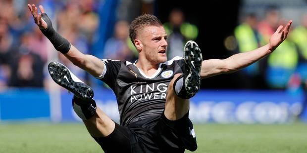 Jamie Vardy prolonge à Leicester - La DH
