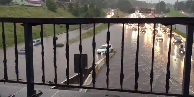 Bruxelles: le ring inondé à Wemmel, Molenbeek fortement touchée (Photos & Vidéos) - La DH