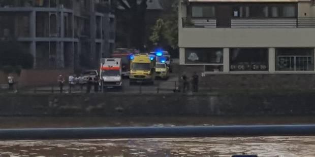 Huy: un nageur en Meuse sème le trouble - La DH