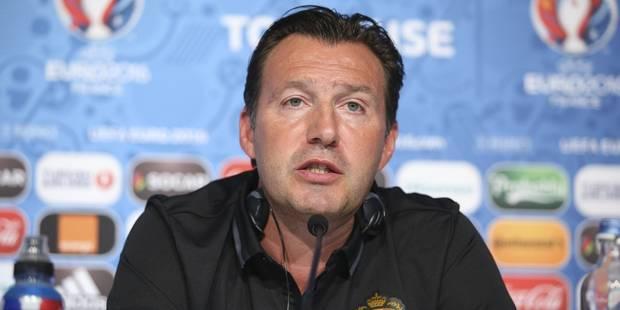 """Wilmots: """"Nous n'avons jusqu'ici rien fait de mal dans cet Euro, mais on peut toujours faire mieux"""" - La DH"""