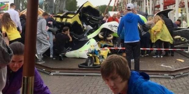 Ecosse: au moins onze blessés, dont neuf enfants, dans l'accident d'un grand huit (PHOTOS + VIDEO) - La DH