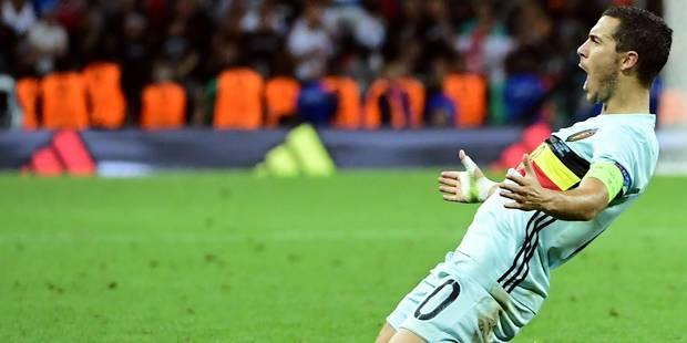 Une Belgique et un Hazard des grands soirs en plantent 4 à la Hongrie pour filer en 1/4 affronter le pays de Galles - La...
