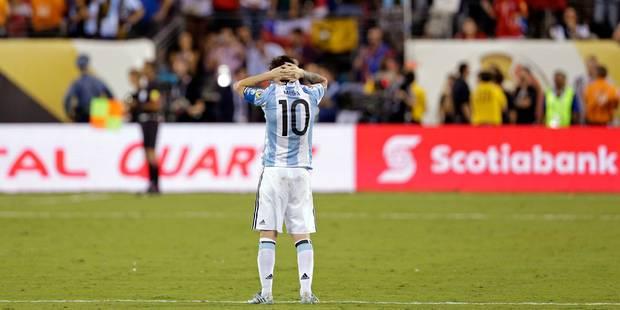 Messi met un terme à sa carrière en sélection argentine après un nouvel échec! - La DH