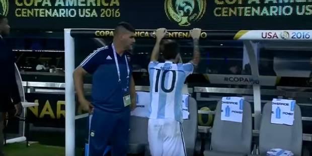 Copa America: les larmes de Messi (VIDEO) - La DH