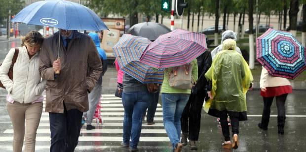 Météo: la pluie fait de la résistance - La DH