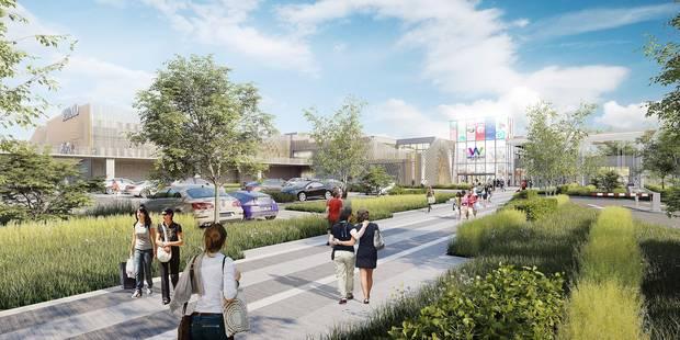 Un nouveau look pour le Westland Shopping Center d'Anderlecht en 2020 - La DH