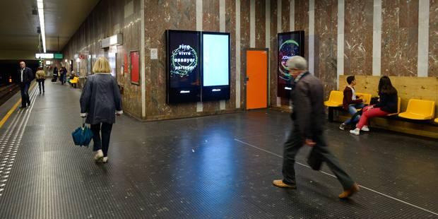 Colis suspect à Bruxelles: fausse alerte à la station Louise - La DH
