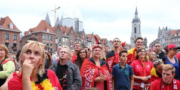 Tournai: La police limitera aussi l'accès à l'écran géant pour pays de Galles-Belgique - La DH