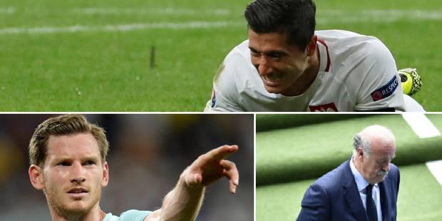 Vertonghen et Hazard se croisent à l'infirmerie, Lewandowski précoce, Del Bosque dehors: les 3 infos qu'il ne fallait pa...