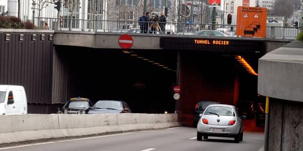 Les travaux de rétablissement de l'étanchéité du tunnel Rogier démarreront lundi - La DH