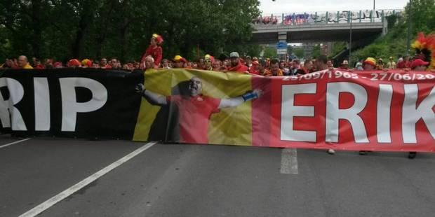 """Une """"Fan Walk"""" vers le stade de Lille en hommage au président des supporters - La DH"""
