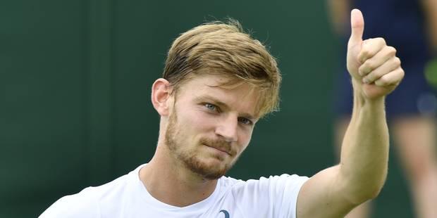 Wimbledon: David Goffin composte son billet pour les huitièmes de finale - La DH