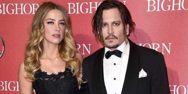 """Pour Johnny Depp, Amber Heard est une """"ordure"""" - La DH"""