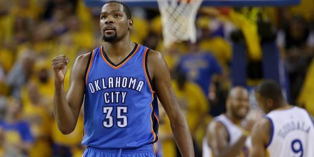 Coup de tonnerre sur la NBA, Durant rejoint Golden State - La DH