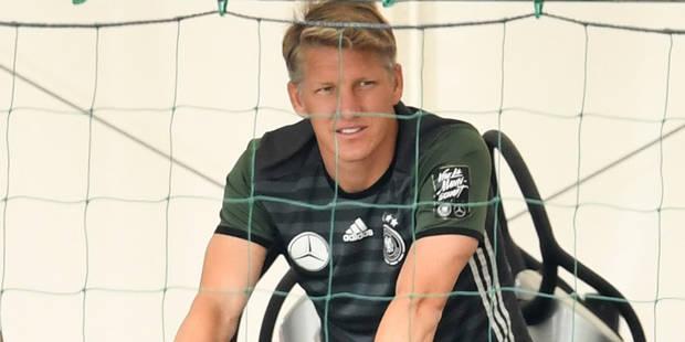 Höwedes et Schweinsteiger absents à l'entraînement - La DH