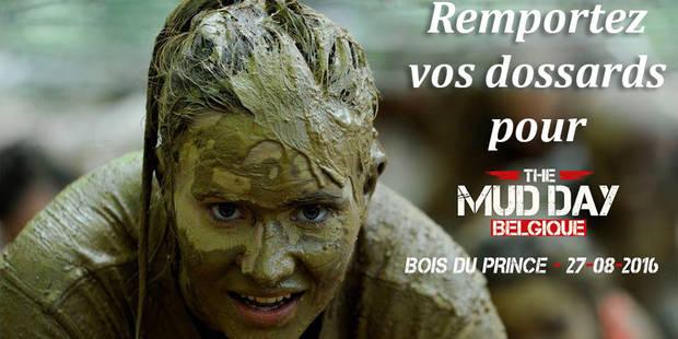 CONCOURS: la DH vous offre vos dossards pour la Mud Day de Charleroi ! - La DH
