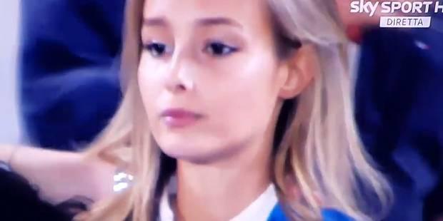 """""""Je le savais, quel con !"""": la réaction de la petite amie de Pellè après le tir au but raté (VIDEOS) - La DH"""