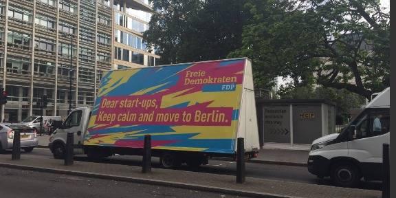 Brexit : les start-ups anglaises bient�t � Berlin ?