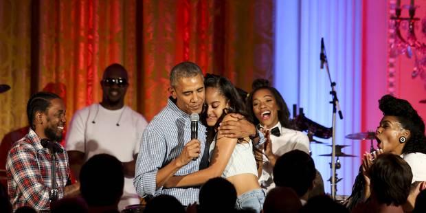 """Le """"happy Birthday"""" un peu g�nant de Barack Obama � sa fille Malia"""