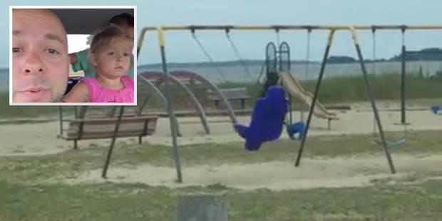 Découverte stupéfiante pour cette famille: comment cette balançoire bouge-t-elle toute seule? (VIDEO) - La DH