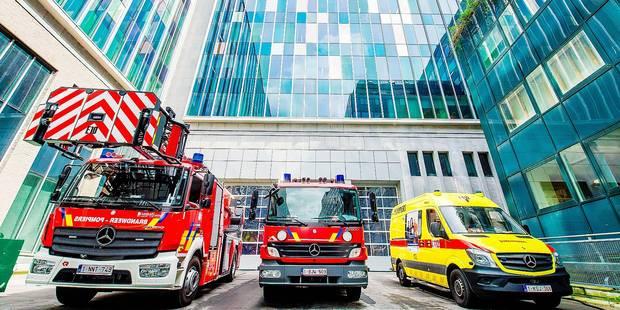 Une caserne de pompiers dans le Pentagone - La DH