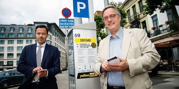Etterbeek: payer le parking avec son smartphone - La DH