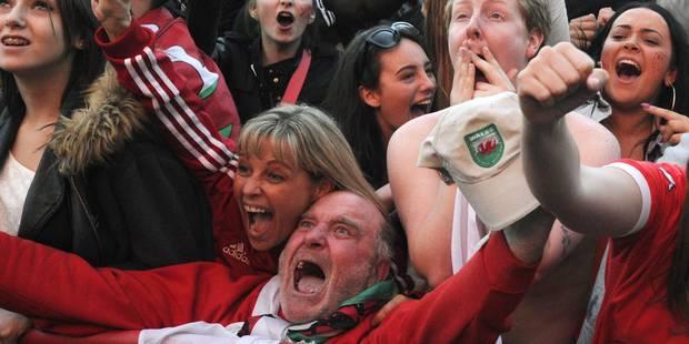 L'immense émotion du pays de Galles exprimée à travers la voix d'un de ses fans (VIDEO) - La DH