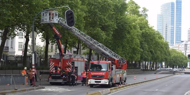 Bruxelles: la petite ceinture fermée suite à un accident - La DH
