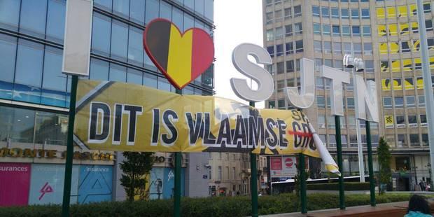 """La commune de Saint-Josse dénonce """"une provocation lamentable des flamingants"""" - La DH"""