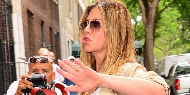 """Jennifer Aniston : """"Je ne suis pas enceinte. Ce que je suis, c'est fatiguée de tout ça"""" - La DH"""