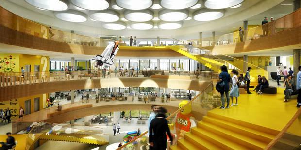 Le nouveau siège social de Lego est un rêve d'enfant devenu réalité - La DH